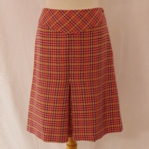 Gap Inverted Pleat Wool Blend Lined Skirt- Sz. 10